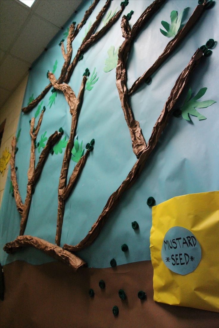 WOW what a super idea to go with the Parable of the Mustard Seed Bible lesson.  www.cokesburyvbs.com