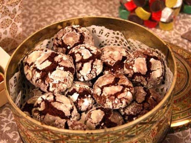Leilas chocolate crackles (snöiga kakor) (kock Leila Lindholm)