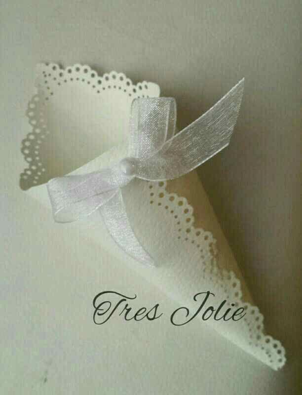 Inspiración de conitos para boda :) 25