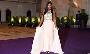Serena Williams and Novak Djokovic celebrate in style at Wimbledon Champions' Dinner