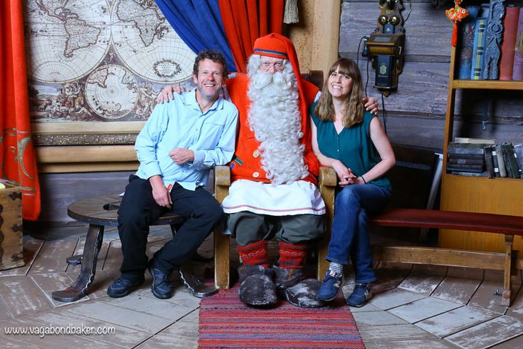 Rovaniemi: Visiting Santa Claus in summer. You can visit Santa throughout the year in Rovaniemi, Finnish Lapland, and it's great fun!