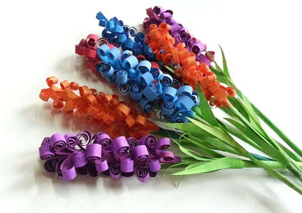 Do It Yourself: φτιάχνουμε χάρτινα λουλούδια, ζουμπούλια!