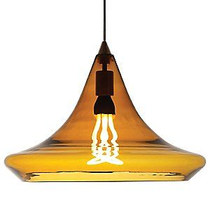 [Mali Pendant by Tech Lighting] great global look, like the Japanese Buddhist Shinto temples. Love the bulb.