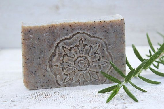 Our Gardener's Soap, perfectly exfoliating for soil loved hands.