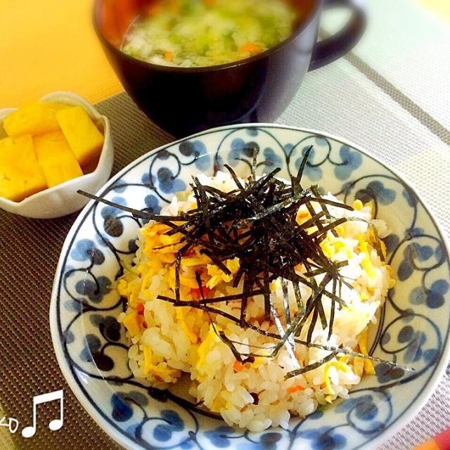 5/7(木)の朝ごはん。 •高知県人なら、前日のちらし寿司は蒸し寿司に❗️ もちろん柚子酢が効いちょります。 - 11件のもぐもぐ - 蒸し寿司(レンジでチン♪) by ponpoko0718