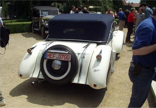 Sodomka Tatra 52 Cabriolet 1934