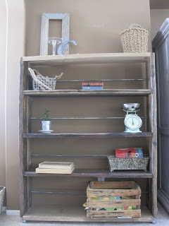fabulously flawed restoration hardwear hack bookshelf industrial hardwarediy