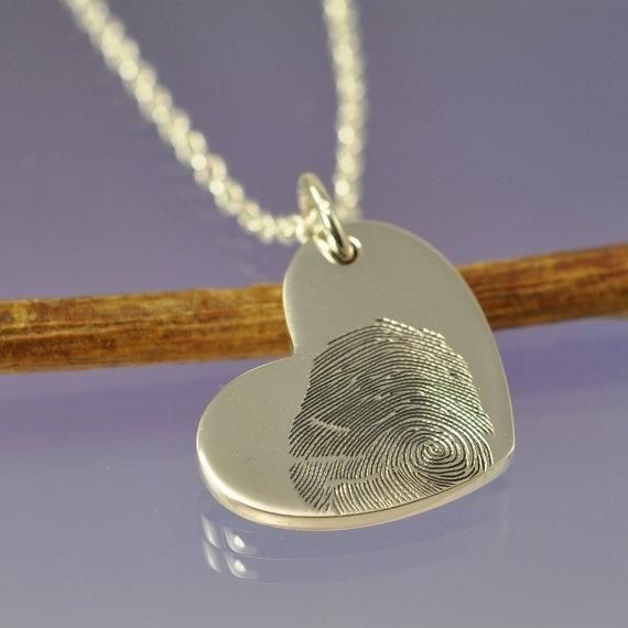 baby fingerprint necklace. Push present?