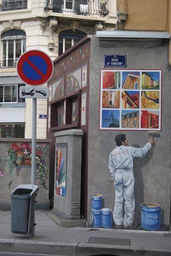 Google Image Result for http   www traveladventures org continents europe images lyon street art02 jpg