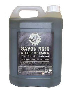 Aleppo zwarte zeep voor huidhoudelijke gebruik - multireiniger - 5L