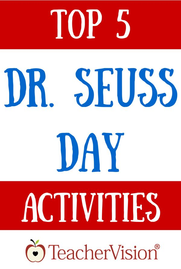Get Dr. Seuss Day lesson ideas, a reading warm-up, and printable classroom activities to celebrate the author's birthday and Read Across America Day on March 2.