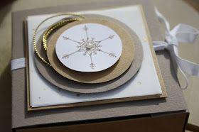 Eine kleine Überraschung zum Advent gibt es heute. Ich stelle Euch die Anleitung meiner Wunschbox, mit den passenden Stanzkreisen zur Verfüg...