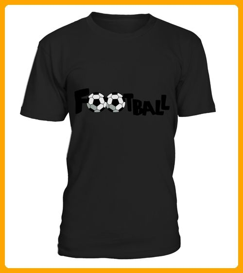Gray SOCCER FOOTBALL sports word TShirts - Foto shirts (*Partner-Link)