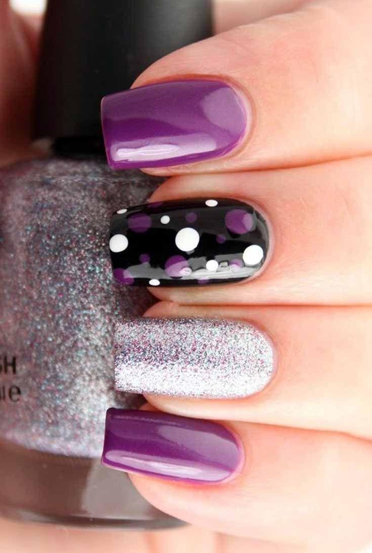 Different Art Designs : Best snowflake nails ideas on pinterest