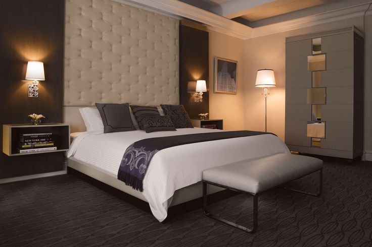Midtown East Hotel Rooms | The Carlton Hotel – Guest Rooms | Boutique NYC Hotels