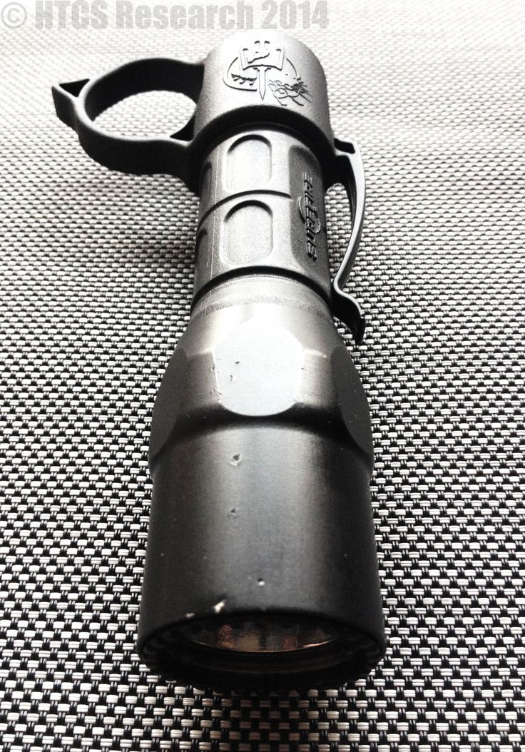 """Chris Costa/Thyrm """"SwitchBack"""": the perfect accessory for your Surefire Flashlight."""