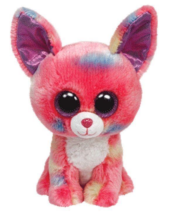 80b3b255236 Ty Beanie Boo Babies 5   Plush CANCUN The Chihuahua ~NEW~
