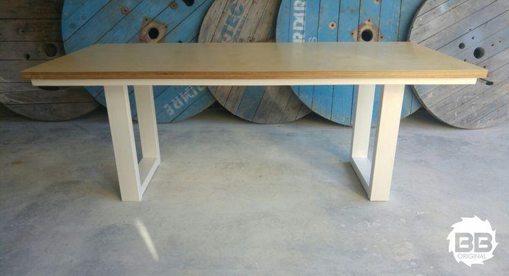 Birch & Steel Dining Table