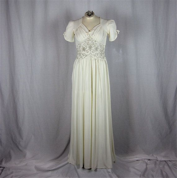 1930s vintage wedding gown antique fashions pinterest for 1930 style wedding dresses