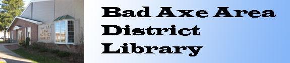 Bad Axe Area District Library, Bad Axe, MI