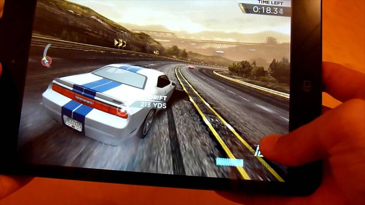 iPad Mini Gaming (Need For Speed: Most Wanted) (+playlist)