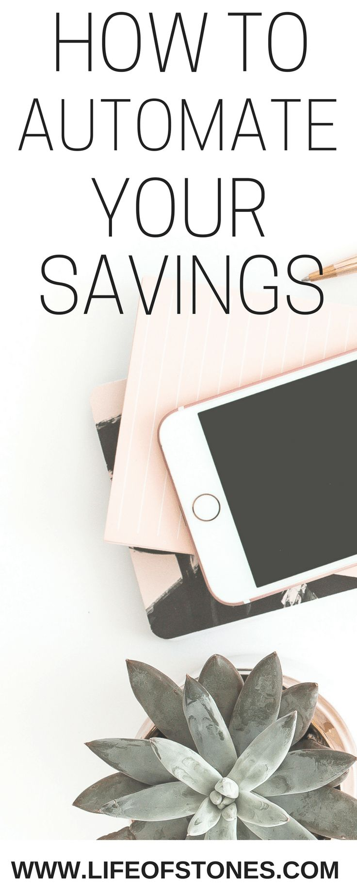 Having trouble paying yourself first each month and saving money?  Learn how to automate your savings you'll soon see your savings account growing each month! Automated savings | Debt-free | Savings account | Financial Freedom | Financial Peace #automatedsavings #personalfinance via @kristinstones