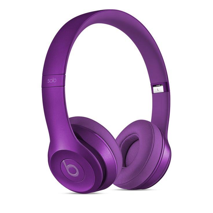Solo2 (Royal Collection) - słuchawki nauszne fioletowe