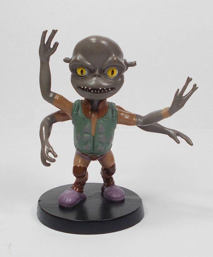 Unknown ? - Mini Toy Alien Figure - Fox 2009 - Cake Topper - TV Film ?