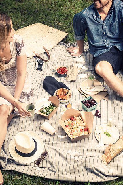 love | summer picnics in the park | via: virginie photography