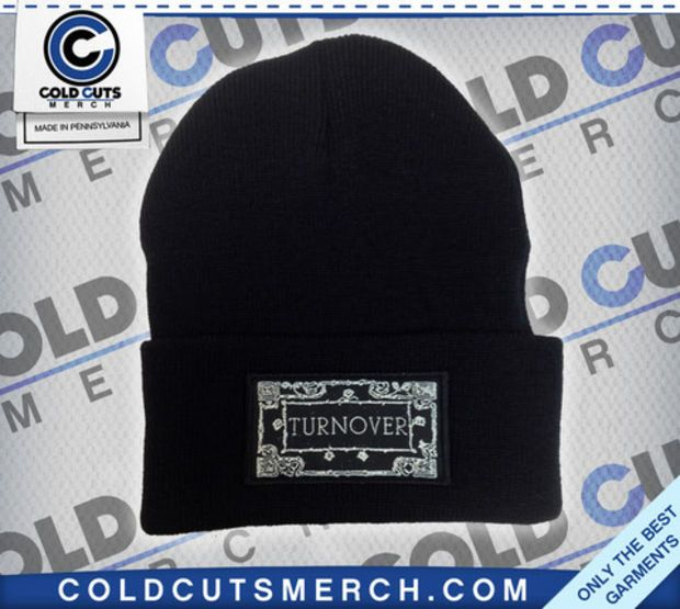 Cold cuts merch turnover patch beanie black