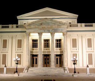 Small Discoveries #59 Δημοτικό Θέατρο Πειραιά. Ένα θέατρο κόσμημα στη γειτονιά του Πειραιά Μπορεί να πήρε σάρκα και οστά το 1895, αλλά θεωρείται το κορυφαίο σωζόμενο ελληνικό θεατρικό κτήριο του 19ου αιώνα. (http://gynaikaeveryday.gr/?page=calendar&day=2015-10-15)