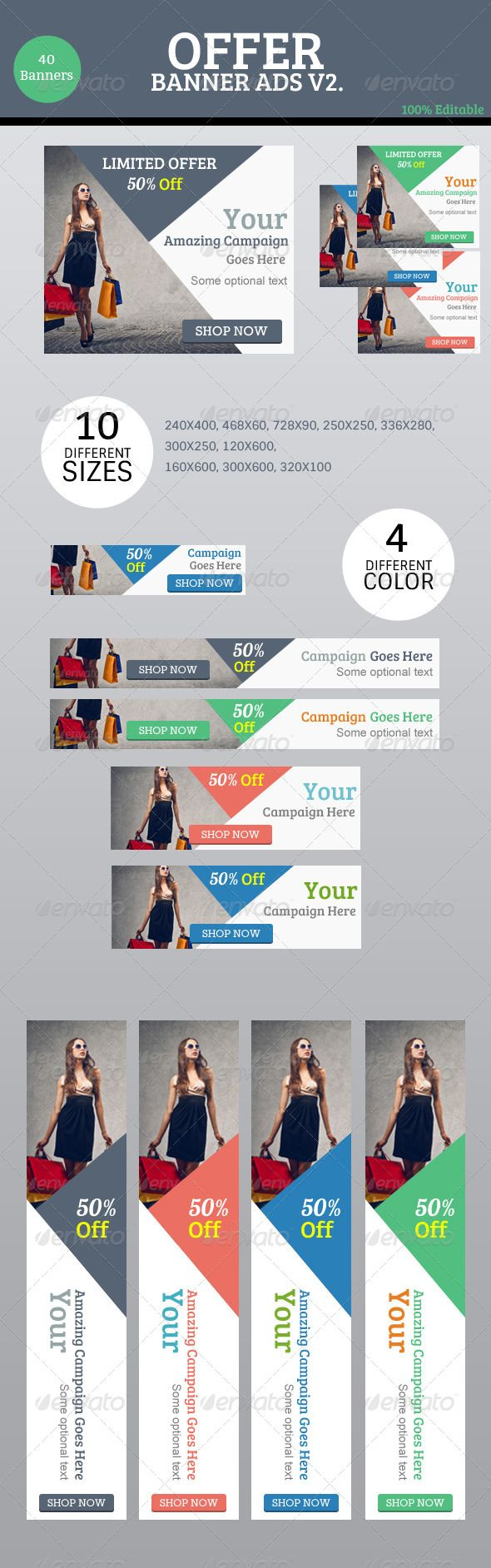 10 Best Creative Web Banners Images On Pinterest Banner Template