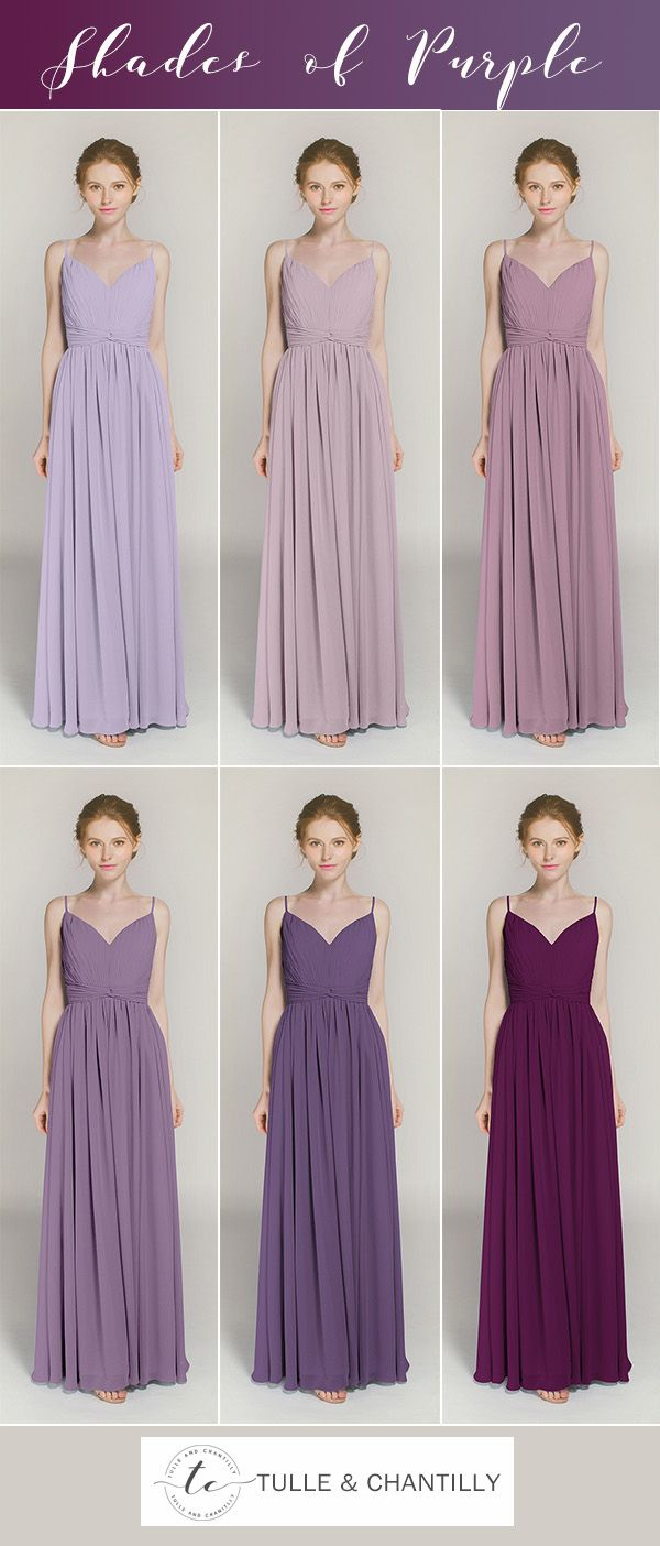 32 best Purple Bridesmaid Dresses images on Pinterest | Bridesmaid ...