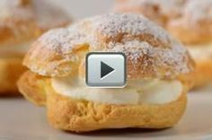 Cream Puffs - Joyofbaking.com