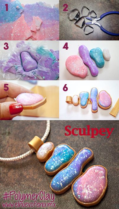 #faux #stone #cabochon #decoden #polymer #clay #crafts #diy #sculpting