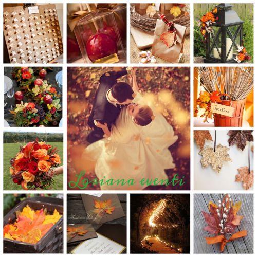 Sposarsi in autunno…  Che ne pensate?