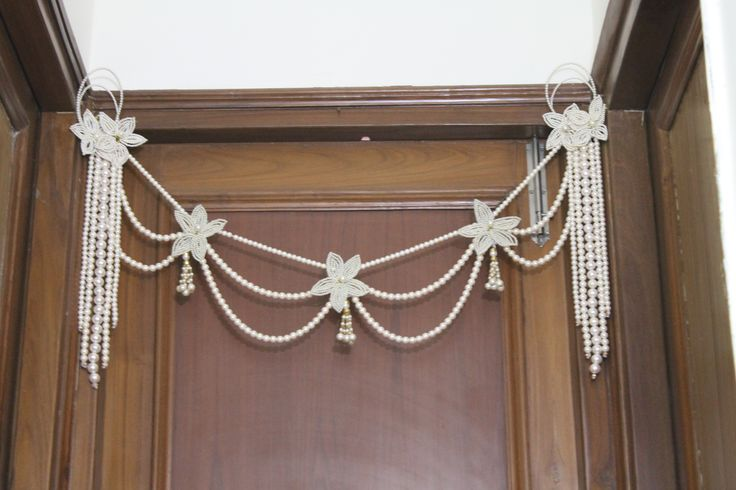 GORGEOUS VALANCE HANGING DOOR (BANDHANWAR)  by Indiatrend. Shop Now at WWW.INDIATRENDSHOP.COM