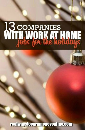 companies that hire work from home employees companies hiring home based workers for the holiday season 9855