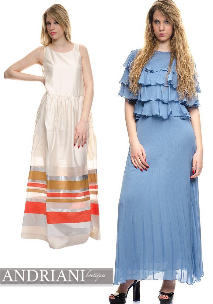 Per questa stagione dimenticatevi di #hotpants e mini #skirts, la vera tendenza sono i #longdress dalle lunghezze #over. Tinte #arcobaleno, #balze, stampe floreali: non perdere il tuo abito su andrianiboutique>> http://goo.gl/d2ygwN