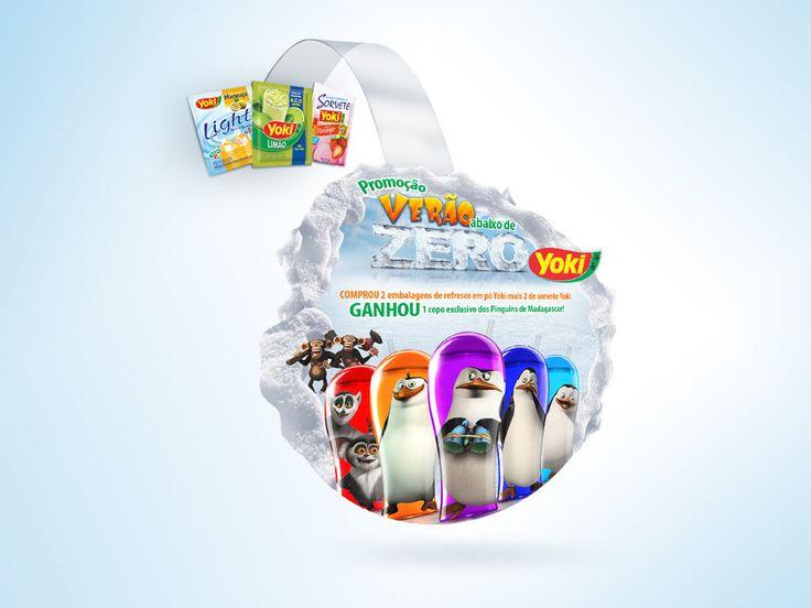 Key visual e desdobramento campanha Yoki on Behance