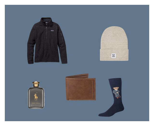 """christmas gifts"" by moretzs on Polyvore featuring Patagonia, Polo Ralph Lauren, Ralph Lauren, Topman, Levi's, men's fashion e menswear"