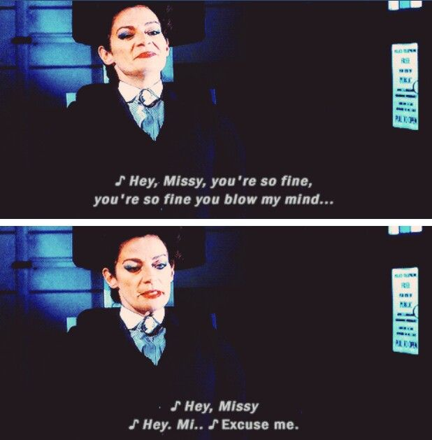 Missy enjoying having the advantage in the battle with the Doctor in Death in Heaven.