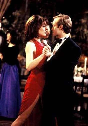 """Jane Leeves and David Hyde Pierce in """"Frasier"""""""