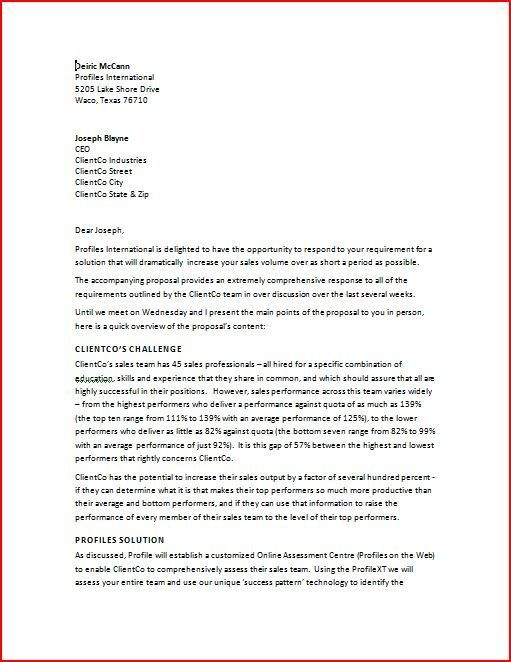 pin by template on template pinterest business proposal letter