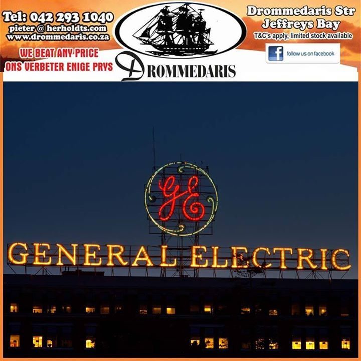Did you know that General Electric is the only company from the original 12 Dow Jones companies that still exist? #trivia #lifestyle #appliances