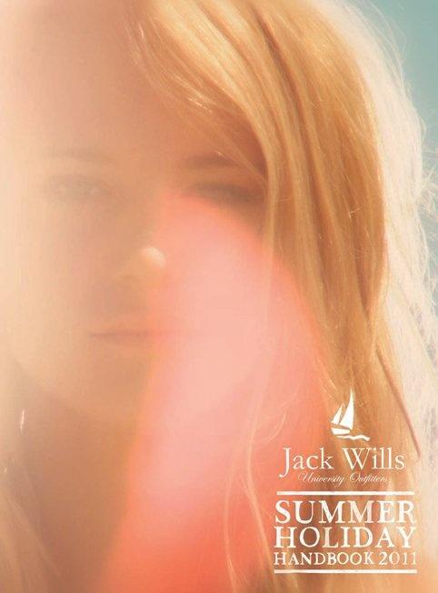 #JackWills simple beauty Summer Holiday Handbook 2011