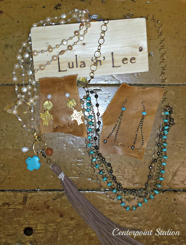 Our newest Jewelry Line... Lula 'n' Lee