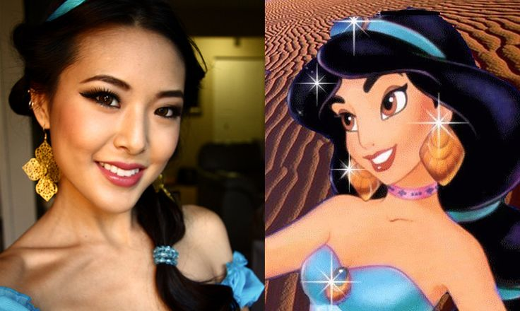 Princess Jasmine tutorial for all my fellow Disney lovers! @Ashlee Hamon