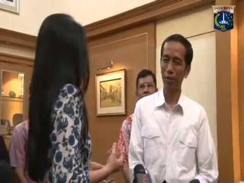 Jokowi berbahasa Jawa dengan Dubes Suriname