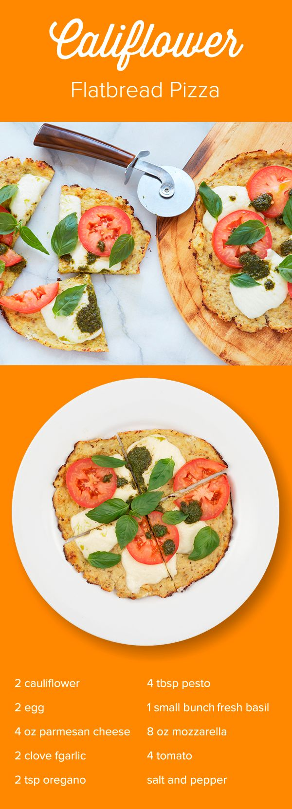 Start loving Pizza night again! Cauliflower Flatbread is crispy and delicious without bread carbs and dairy. Just one of the creative, chef-designed 1/2 hr recipes you'll prepare when you try Just Add Cooking. Use Promo Code JUSTADDPINTEREST to get $30 off your first meal kit delivery.